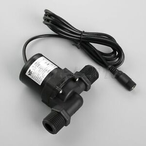 12V-24V-Hot-Water-Circulation-Pump-Brushless-Motor-DC-Pump-Wire-Female-Interface
