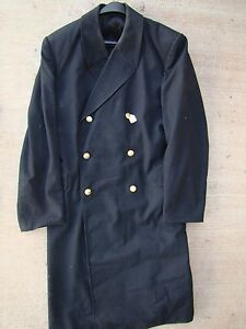 USSR-CCCP-SOVIET-NAVY-NAVAL-OFFICER-039-S-MID-80-039-s-DOUBLE-BREASTED-LIGHT-OVERCOAT