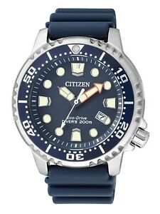 NEW-Citizen-Promaster-Diver-Men-039-s-Eco-Drive-Watch-BN0151-17L