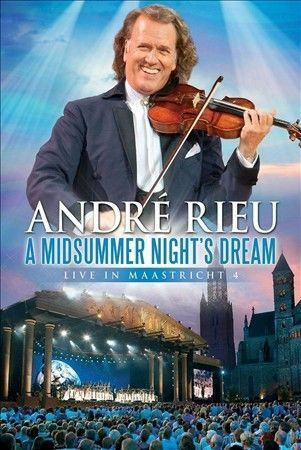 1 of 1 - A Midsummer Night's Dream: Live in Maastricht 4 by Andre' Rieu (DVD, Sep-2010,