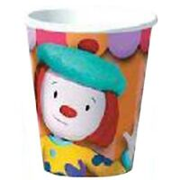 Jojo's Circus 9oz Paper Cups (8) Birthday Party Supplies Beverage Drinking