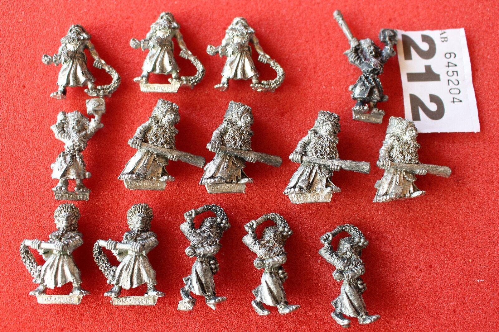 Juegos taller Warhammer Empire Flagellants 14x figuras de metal regmient 90s Ejército