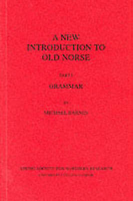 A New Introduction to Old Norse: Grammar, , Used; Good Book
