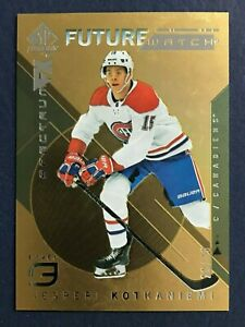 JESPERI-KOTKANIEMI-2018-19-SP-AUTHENTIC-SPECTRUM-FX-GOLD-26-50-NO-S-95-42419