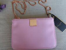 BNWT Ted Baker Dusky Pink Alisa Small Zip Top Cross Body Bag