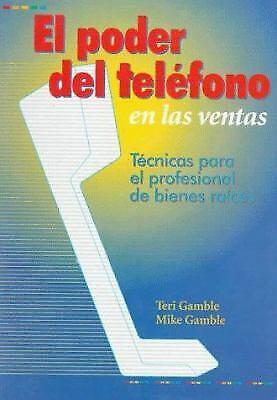 Poder del Telefono en las Ventas Paperback Teri Gamble