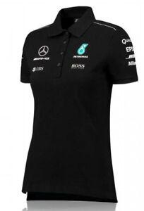 Mercedes AMG F1 Ladies White Team Polo