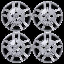 """4 New for 2007-2012 Sentra Bolt On 16"""" Wheel Covers Lug Hub Caps Full Rim Skins"""