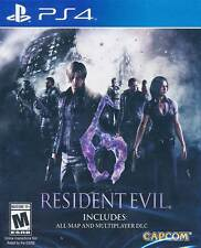 Resident Evil 6 PS4 Game NEW US (English Portuguese Spanish French German)
