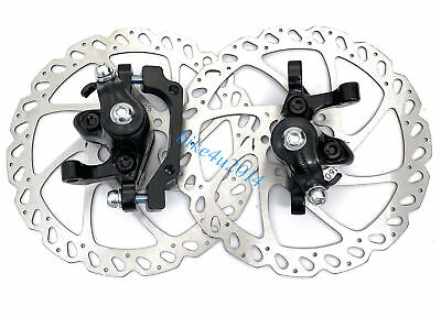 Hayes MX Comp Mechanical Disc Brake Set Front and Rear Black W// 160mm Rotors