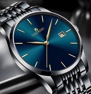 Men-039-s-Waterproof-Military-Sport-Date-Analog-Quartz-Wrist-Watch-Business-Watches