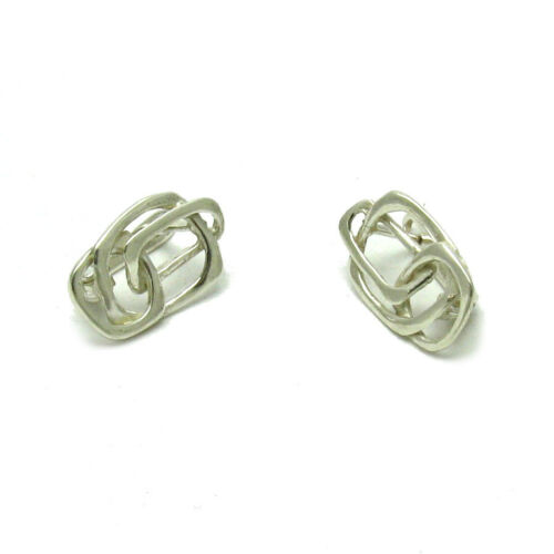 STERLING SILVER EARRINGS FRENCH CLIP SOLID 925 E000547 EMPRESS