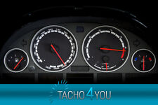 BMW Tachoscheiben 300 kmh Tacho E39 Benzin M5 SCHWARZ 3393 Tachoscheibe km/h X5