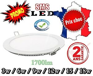 Panel-LED-Rond-Extra-Plat-spot-encastrable-slim-3w-a-18w-6500k-4000k-3000k-Dalle