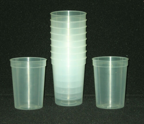 Small Glow in the Dark Plastic Drinking Glasses Mfg USA Lead Free Durable 12