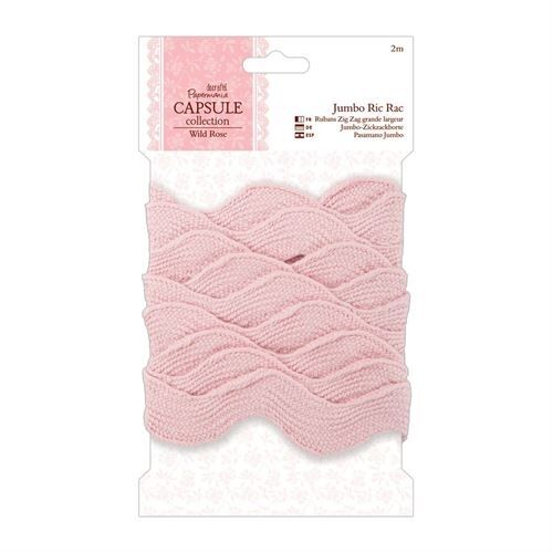 Docrafts Papermania Jumbo Ric Rac Capsule Collection 2m x 40mm Sewing Sew