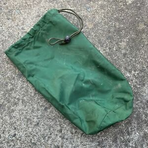 BRITISH ARMY SURPLUS GREEN 1000d  SATCOM ANTENNA NYLON STASH BAG,DITTY,NVG,177