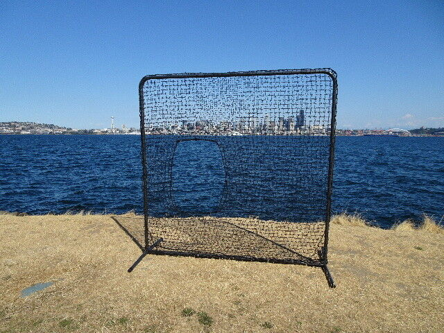 Softball Pitcher Predective Screen Kit 7'x7' w  Net & Frame