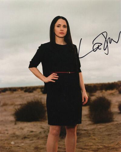COA. Lydia Rodarte-Quayle in Breaking Bad signed 10x8 inch photo Laura Fraser