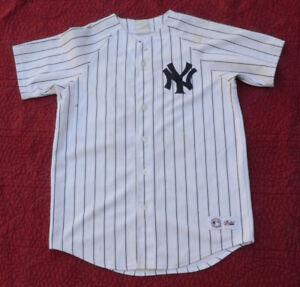 Vintage Majestic MLB New York Yankees Jason Giambi  25 Ladies Jersey ... 0ae53a9df7c