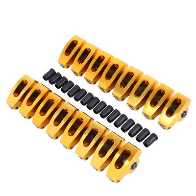 Aluminum Roller Rocker Arms 7//16 Small Block SBF Ford 289 302 351W 5.0 1.7 Ratio