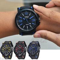 Luxury Men's Stainless Steel Date Time Analog Digital Quartz Sports Wrist Watch
