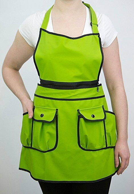LOT of 10 - Universal Stylish Salon Waterproof + Chemical proof Apron -w  defect