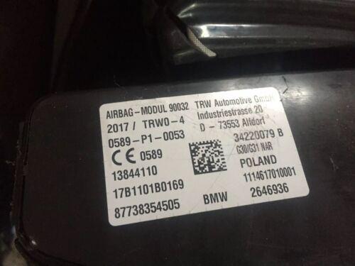 BMW Nouvelle série 5 G30 G31 2017-on siège latéral chaise airbag droit ou gauche OS NS