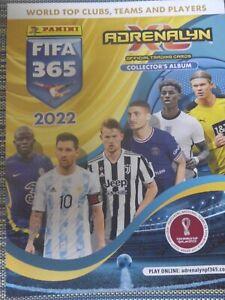 Panini Adrenalyn xl Fifa 365 2022 Limited Editions
