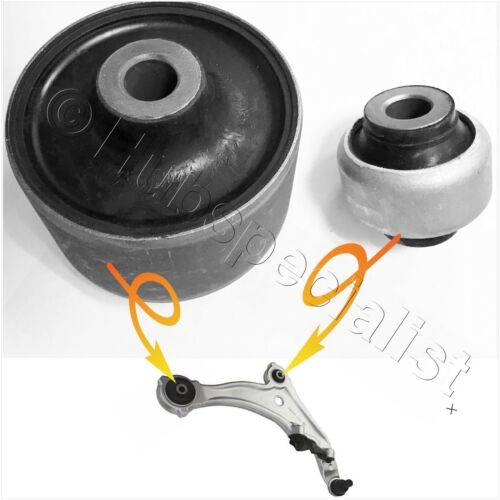 Front Lower Control Arm Bushings For 2009-2010-2011-2012-2013 Nissan Murano 2PCS