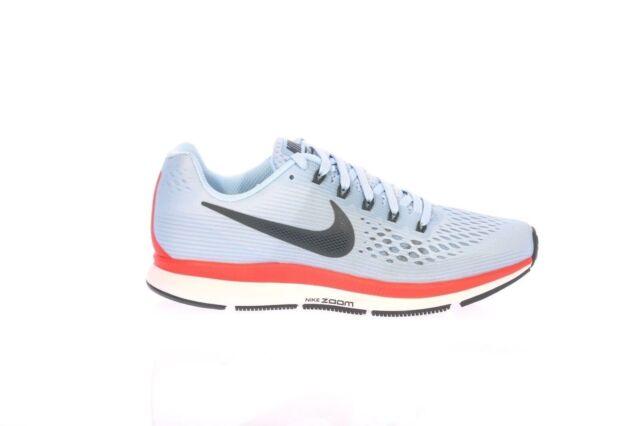 6142f68cf9792 Nike Air Zoom Pegasus 34 Ice Blue Fox Crimson White 880555-404 Men Running  Shoe 7