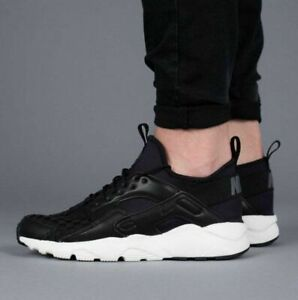 f8c697835eaf Mens Nike Air Huarache Run Ultra SE - 875841 008 - Black Dark Grey ...
