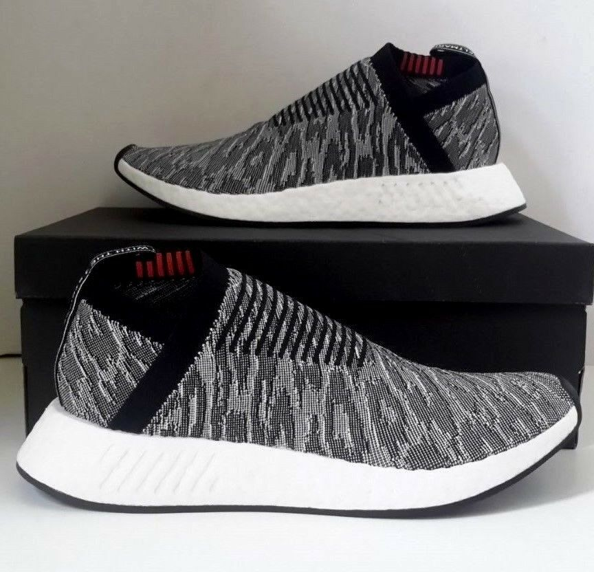 Adidas Men NMD CS2 Primeknit black core black future harvest BZ0515 SZ 9.5  NEW