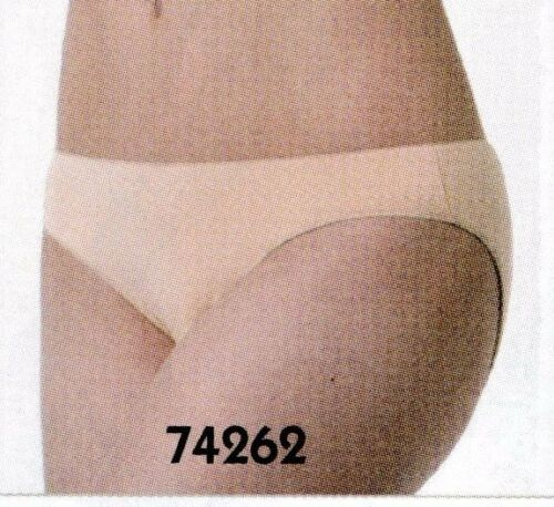 NWT Gymnastic Briefs Underwear Nude flatstitched ch//ladies microfiber lowrise