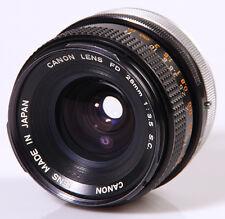 OBJECTIF CANON FD 3,5/28mm S.C.