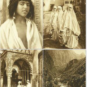 North Africa in 1920s Morocco Tunisia Maghreb Photo Book w/240 pic Algeria Libya