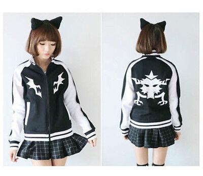 Ryuko Matoi KILL LA KILL Mako Baseball Cosplay Costume Jacket Hoodies Coat @83
