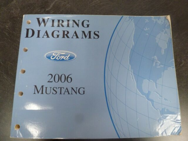 2006 Ford Mustang Electrical Wiring Diagrams Manuals Gt