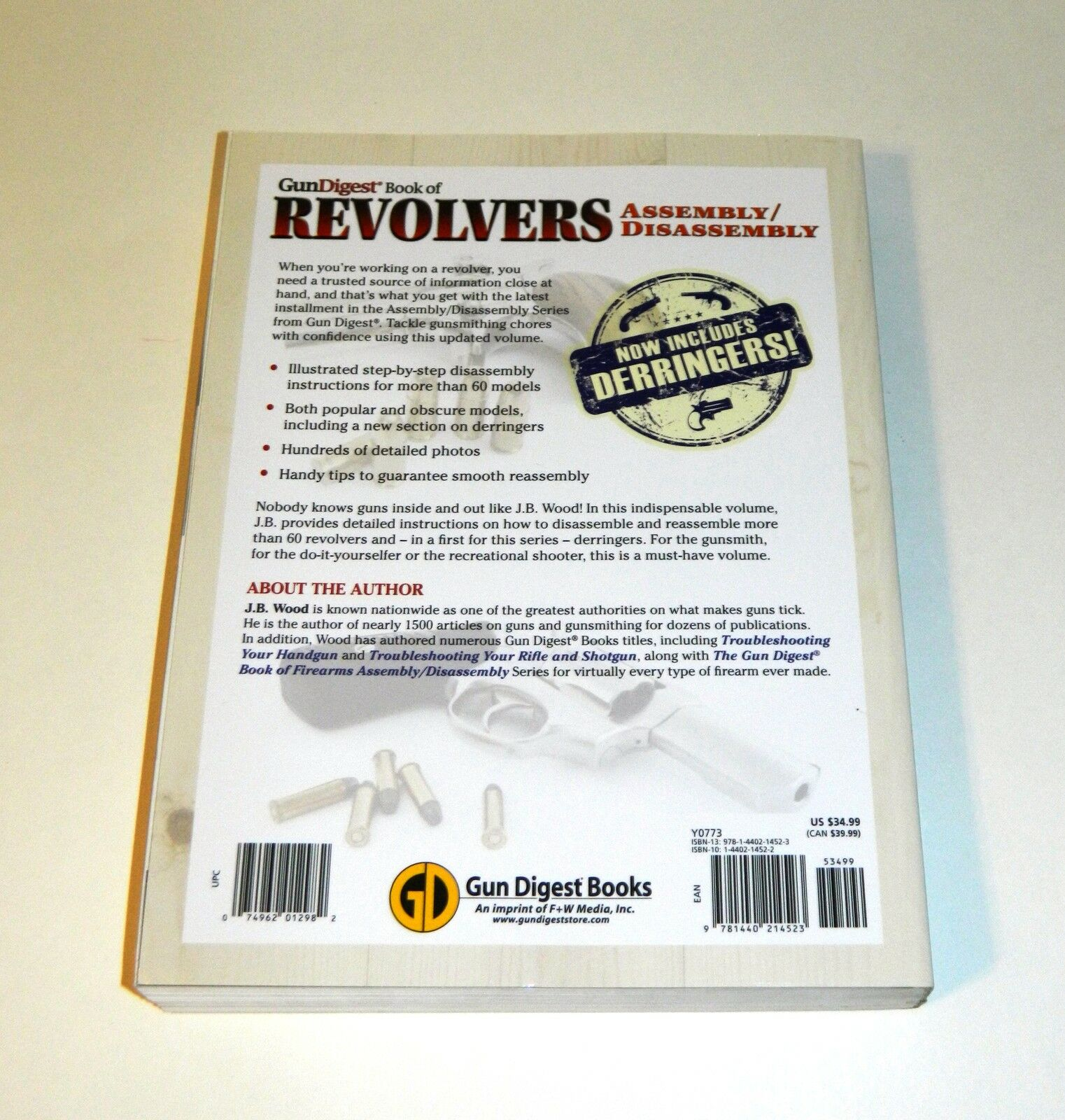 Gun Digest Book of Revolvers Assembly/Disassembly by J  B