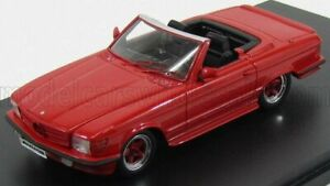 GLM-MODELS 1/43 MERCEDES BENZ | SL-CLASS AMG R107 ROADSTER 1983 | RED