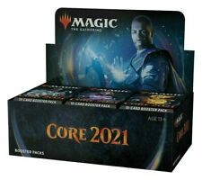 Magic Core Set 2021 M21 Booster Box MTG NEW FACTORY SEALED