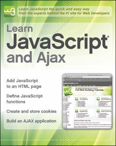 W3schools pdf learn javascript ajax