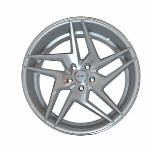 4-GWG-Wheels-20-inch-STAGGERED-Silver-RAZOR-Rims-fits-INFINITI-G35-COUPE-2003-07