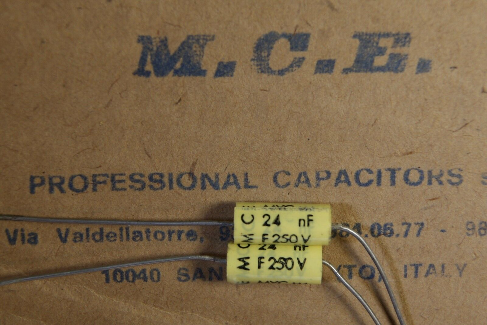 2.2uf  WIMA ROE MCE SIEMENS 250pcs KIT assortment capacitor MKP MKT 2.2nf
