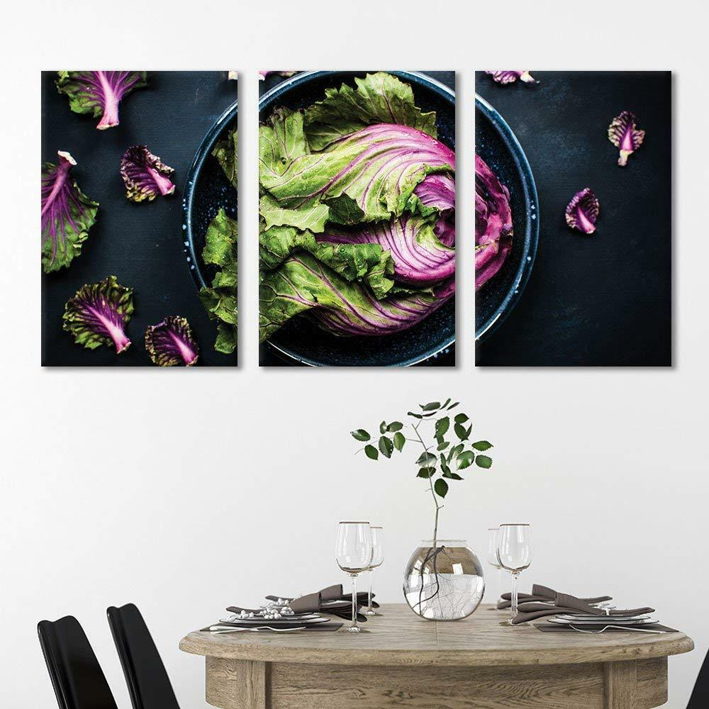Wall26 - 3 Panel Vegetable in Bowl Gallery - CVS - 24 x36  x 3 Panels