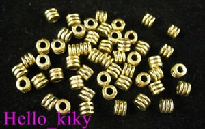 400pcs-Antiqued-gold-plt-screw-tube-spacer-beads-A334