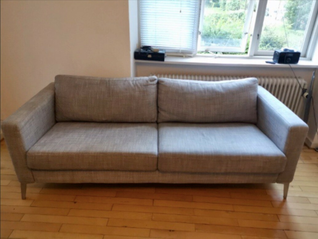 Sofa, polyester, 3 pers. , Ikea, IKEA Karlstad 3-personers…