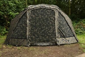 Fox-Ultra-60-034-Camo-Ventec-Ripstop-Brolly-System-Carp-Fishing-Shelter-CUM222