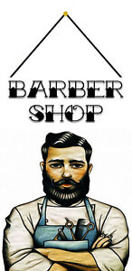 Barber-Shop-Tin-Sign-Shield-with-Cord-Metal-Tin-Sign-7-7-8x11-13-16in-FA0227-K