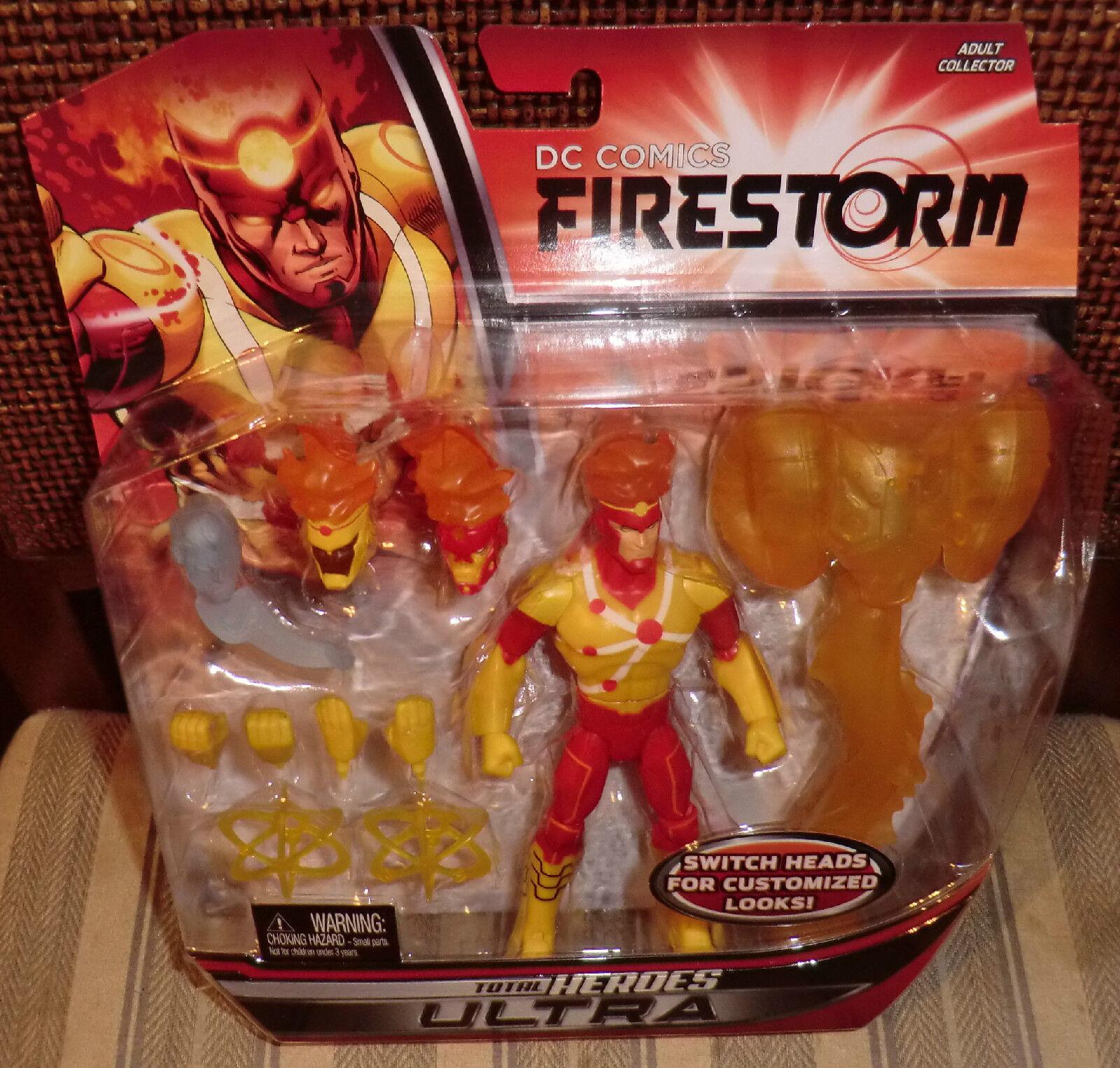 Dc Universe Firestorm total Heroes Ultra Matty Exclusivo Moc